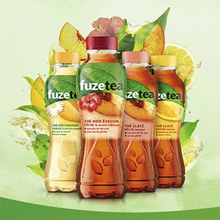 test gratuit de boissons Fuze Tea