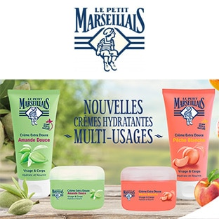 Test Le Petit Marseillais : soins hydratants gratuits