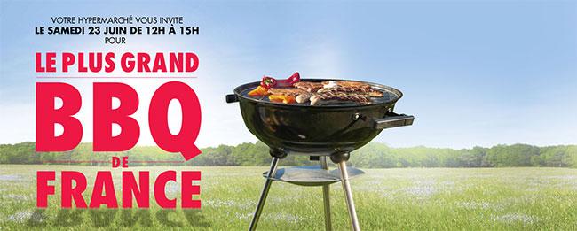 Carrefour vous invite au plus grand barbecue de France
