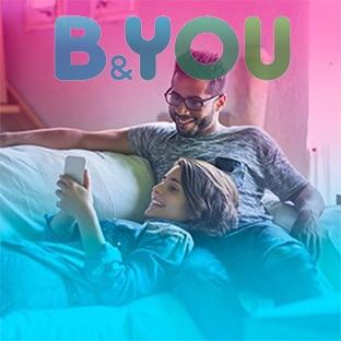 Forfait mobile B&YOU 20 Go pas cher : 4,99€ / mois à vie !