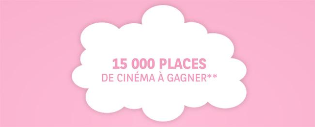 contremarque BNP Paribas Fête du Cinéma : Places gratuites à gagner