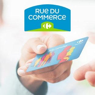 Carte fidélité Carrefour : Cagnotte valable sur RueDuCommerce.fr