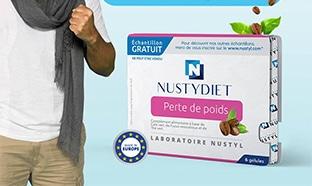 Échantillons gratuits de complément Nustydiet de Nustyl
