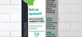 Échantillons gratuits Roll-on Apaisant jambes Marque Verte