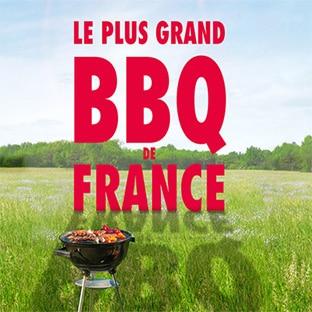 Invitations gratuites au Plus Grand BBQ de France de Carrefour