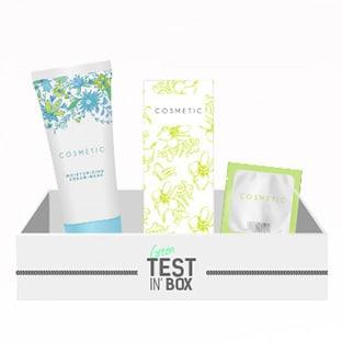 Green Test'in Box : coffrets offerts avec échantillons gratuits
