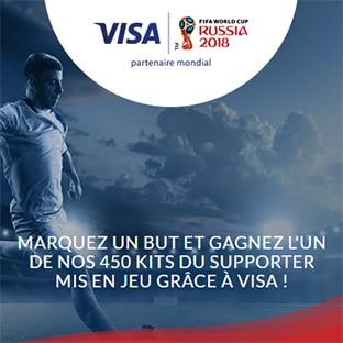 Jeu La Banque Postale Visa : 450 kits du supporter à gagner