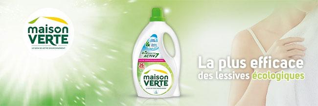 testz la lessive Bioactiv7 de Maison Verte