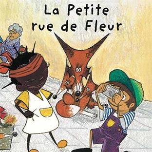 Petit livre gratuit pour enfants «La Petite rue de Fleur»
