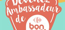 Mouvement Bon App' de Carrefour : Tests de produits gratuits