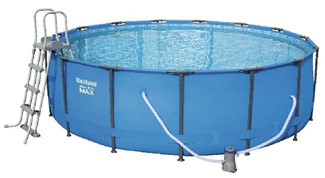 Soldes piscines Gifi : Bestway 4,57 x 1,22m
