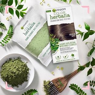 Test Garnier : 1000 kits coloration Color Herbalia gratuits