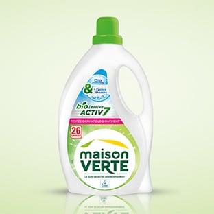 Test Maison Verte : Bidons de lessive Bioactiv7 gratuits