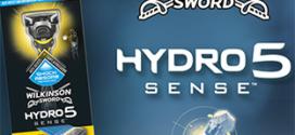 Test Wilkinson : rasoirs Hydro 5 Sense gratuits
