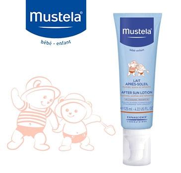 test du lait après-soleil de Mustela