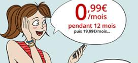 Vente Privée Free Mobile : Série spéciale 50 Go à 0,99€