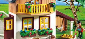 Vignettes Playmobil d'Auchan