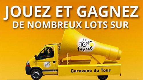 Les cadeaux de La Caravane du Tour de France