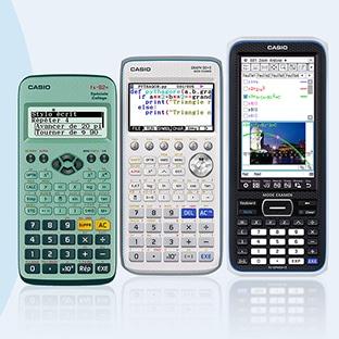Offre remboursement Calculatrices Casio : Jusqu'à 25€ offerts