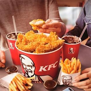 Carte fidélité KFC virtuelle avec l'appli mobile