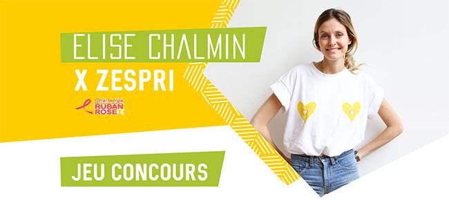 Tentez de remporter l'un des t-shirts Elise Chalmin x Zespri