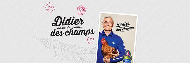 poster Didier des champs de Fermiers de Loué