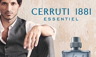 Échantillons gratuits du parfum Cerruti 1881 Essentiel