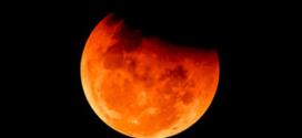 Éclipse de la lune rousse
