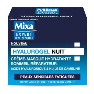 Tentez de tester Hyalurogel Nuit de Mixa