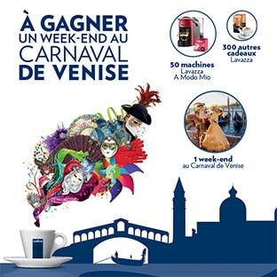 Jeu Lavazza Carnaval de Venise