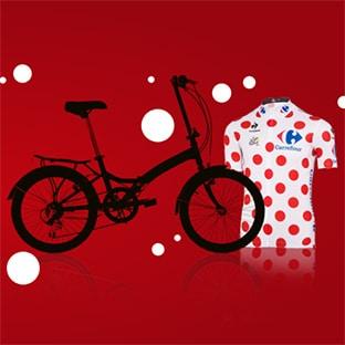 Jeu Tour à Pois Carrefour : 142 lots à gagner (vélo, planchas…)