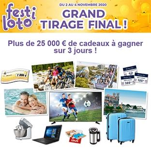 Jeu Ouest-France Festiloto