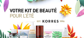 Jeu ELLE & Korres : 20 kits de beauté pour l'été à gagner