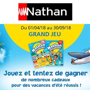 Jeu Réussir avec Nathan : 40 billets d'avion et 1060 autres lots