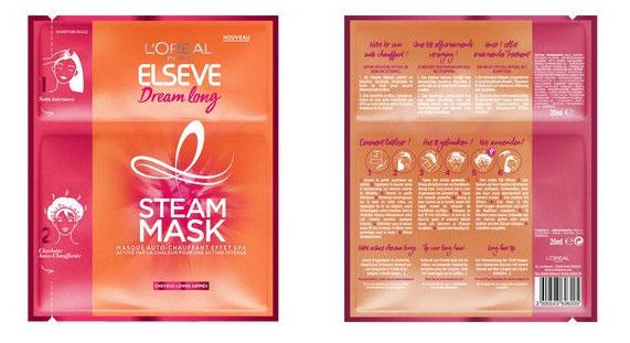 testez le masque Steam Mask Dream Long d'Elseve