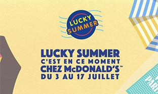 Jeu McDonald's Lucky Summer