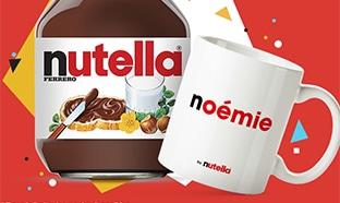 Opération Mug Nutella offert avec Carrefour