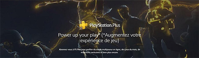 Promo Abonnement PlayStation Plus PSN PS+