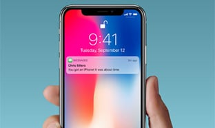 iPhone X moins cher