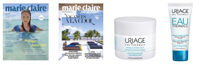 Promotion Marie Claire et Uriage