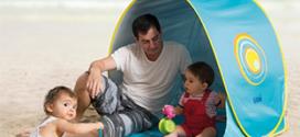 Soldes Amazon : Tente de plage Ludi pas chère