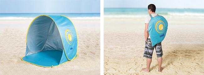 Tente de plage pop-up anti-UV Ludi à petit prix