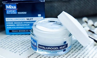 Test Mixa Expert : soins Hyalurogel Nuit gratuits