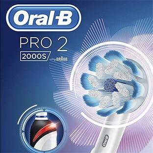 ORAL-B PRO 2 2000S BROSSE A DENTS ELECTRIQUE SANS FIL