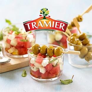 Test gratuit d'olives Tramier