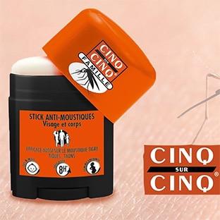 Test Cinq sur Cinq : sticks anti-moustiques gratuits
