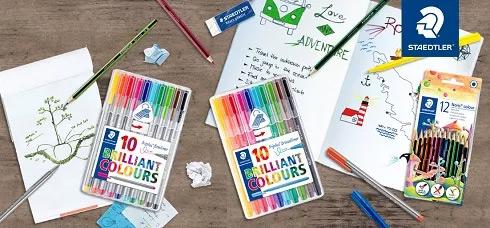 testez gratuitement des feutres et crayons Staedtler
