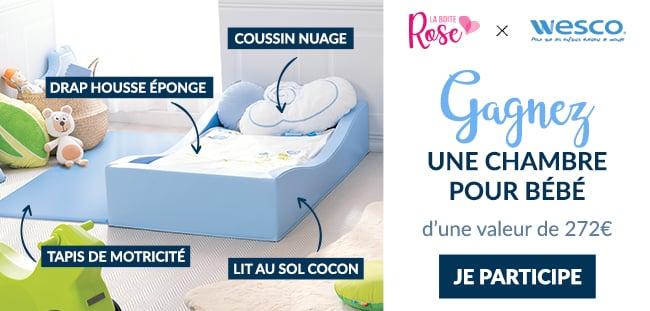 remportez une chambre pour bébé Wesco avec La Boîte Rose