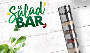Bonduelle Salad Bar : Moulin à baies offert