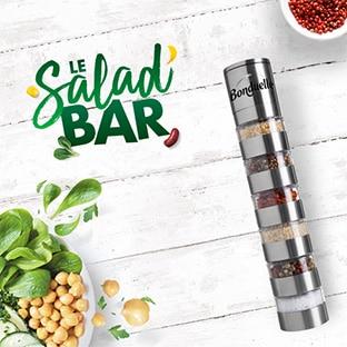Bonduelle Salad Bar : Moulin à baies offert